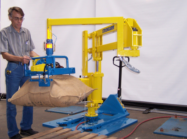 Manipulators For Lifting : Strongarm manipulator does your heavy lifting