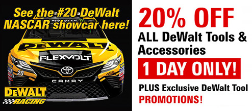 Dewalt-Showcar-Plus-Sale
