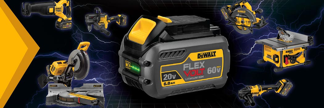 Dewalt flexvolt cordless power tools
