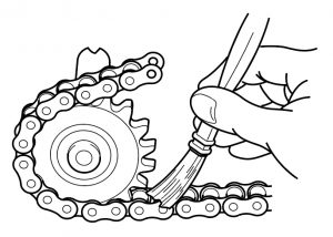 roller chain lubrication
